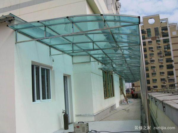 陽光板雨棚
