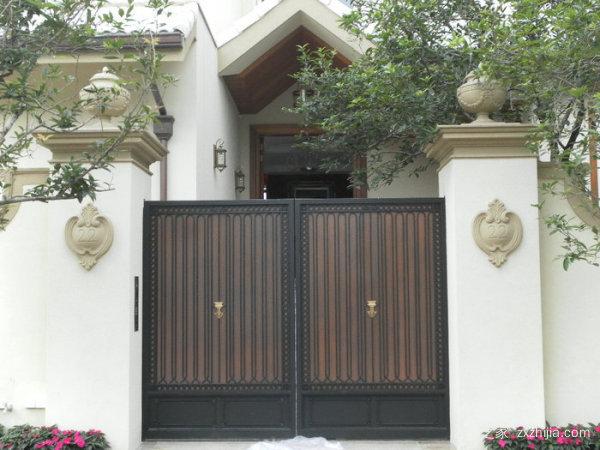 别墅入户大门