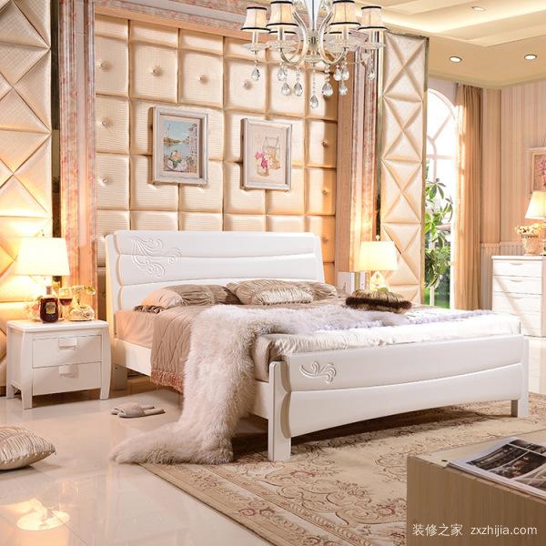 实木床双人床