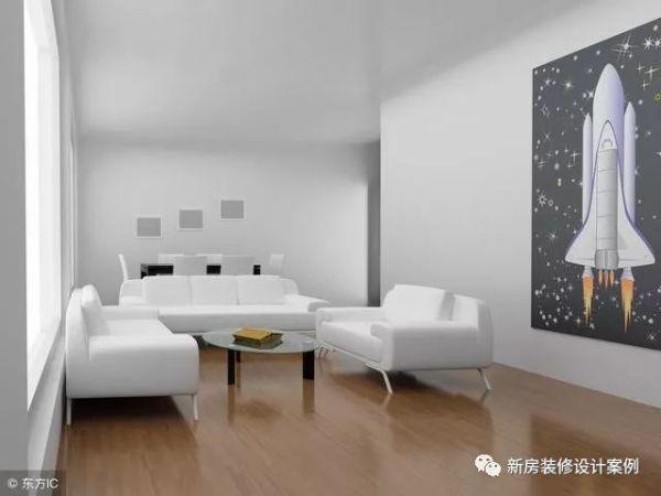 出租屋室内装修效率图?