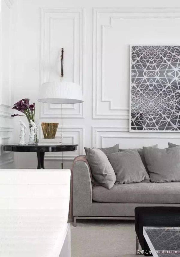 客厅墙面现在流行这么装,美出天际!