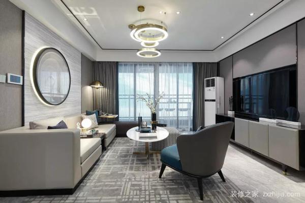 高级灰的别墅装修,渲染出奢华的情调