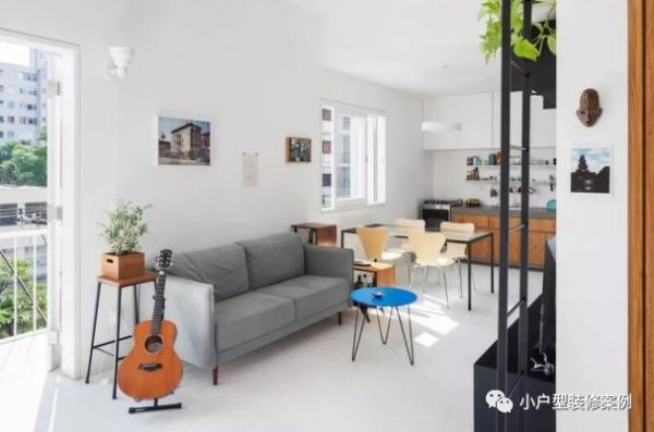 48㎡精致小户型改造单身公寓,完美拥有自己的小天地!