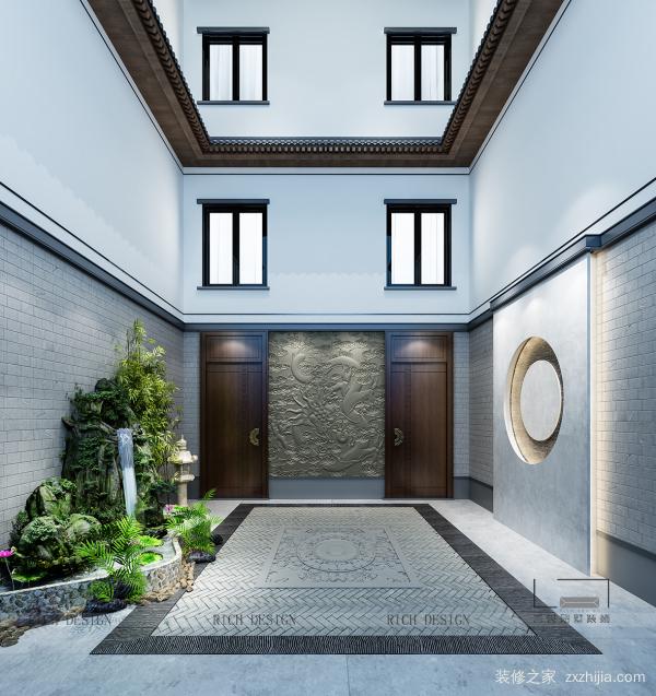 意境新中式装饰,于别墅中寻觅诗意生活