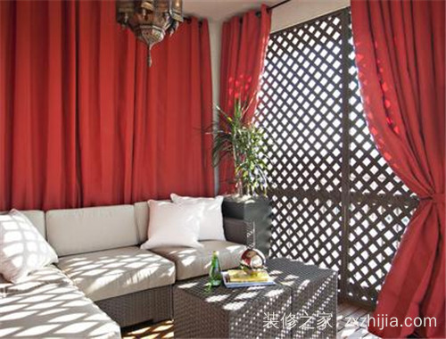 客厅窗帘什么颜色大气 软装色彩搭配技巧