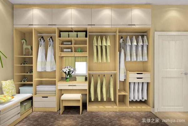 衣柜格局有讲究 这样设计才最实用