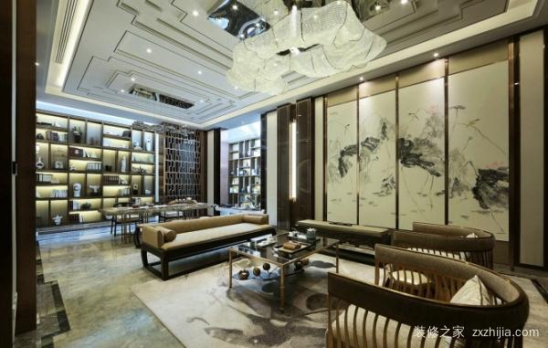 中式别墅装饰,叙述着空间的韵律