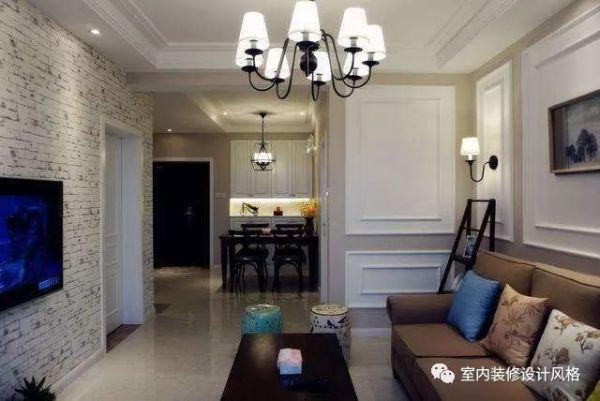 92平室内装修,超多亮点,最喜欢客厅背景墙设计!