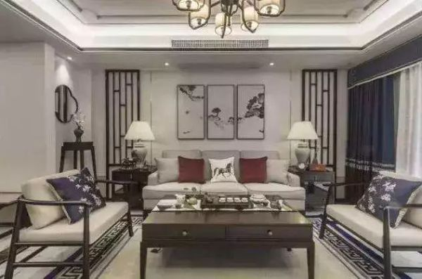 五分优雅,三分高贵,非常雅居的新中式风家居装修!