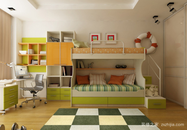 这样设计儿童房瞬间多出20㎡