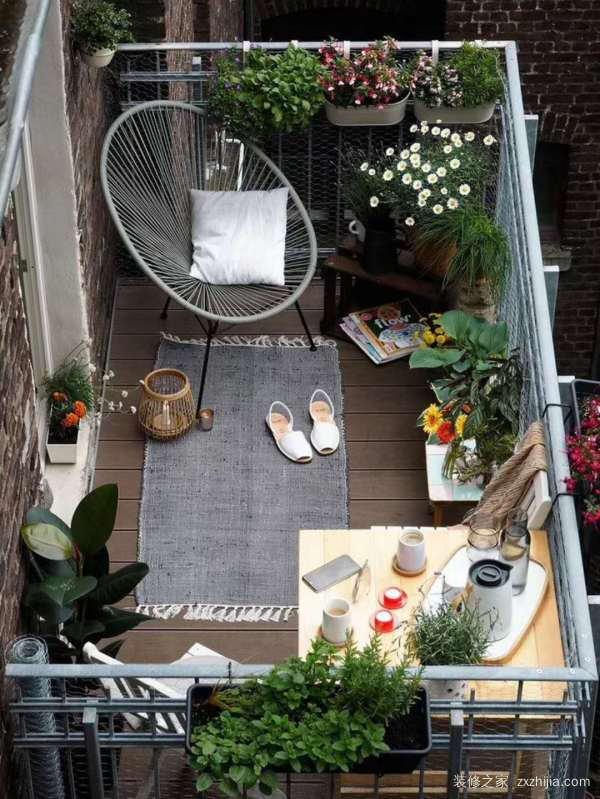 阳台布置方案,阳台只用来晾衣服?堆杂物?