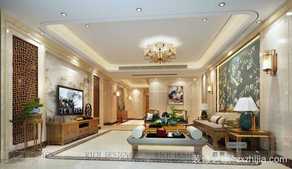 """中式别墅装修设计,塑造优雅精致的""""家""""庭生活"""