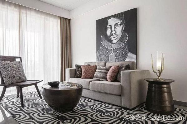 现代风别墅装修设计,感受原始的宁静和热情的矛盾感