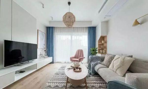 122平简约北欧风三居室装修,真乃家居界的一股清流!