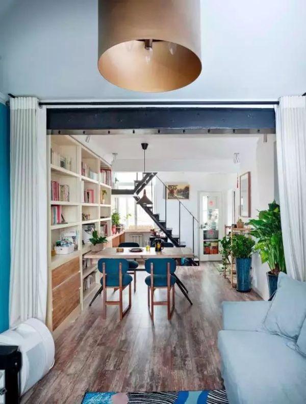 32平单身公寓装修竟有10个功能空间,小户型也有春天!