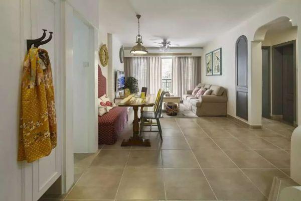 89平美式田园风新房,20万装修,这样的设计很舒服!