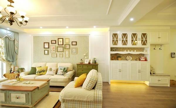 兩居室裝修設計圖