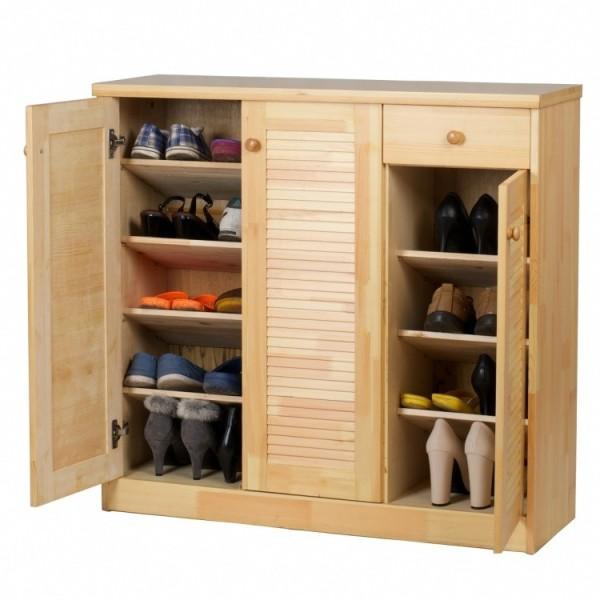 高档实木鞋柜