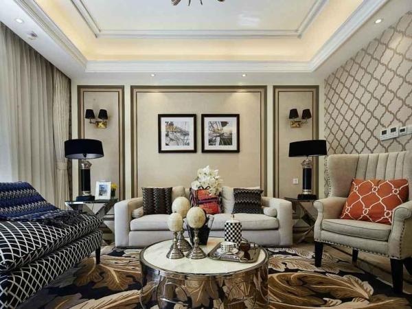简约欧式风格沙发