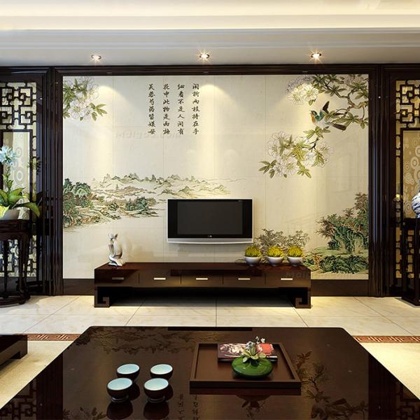 客厅装修背景墙