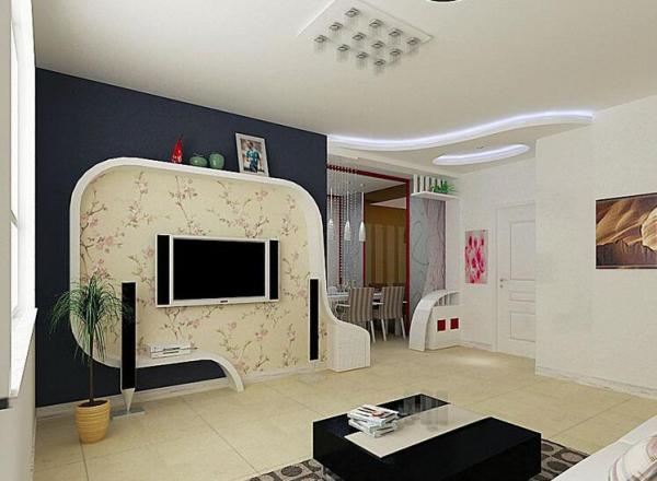 87平米两室一厅室内装修