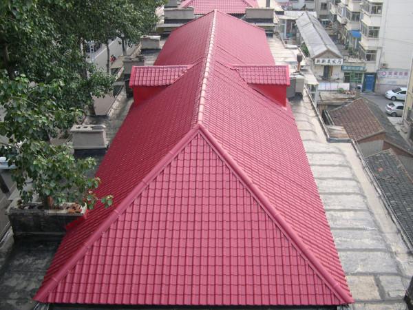 琉璃瓦屋顶造型