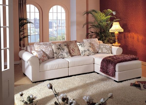 客厅沙发的摆设