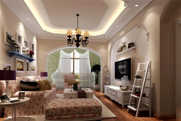客廳裝修不吊頂好看嗎