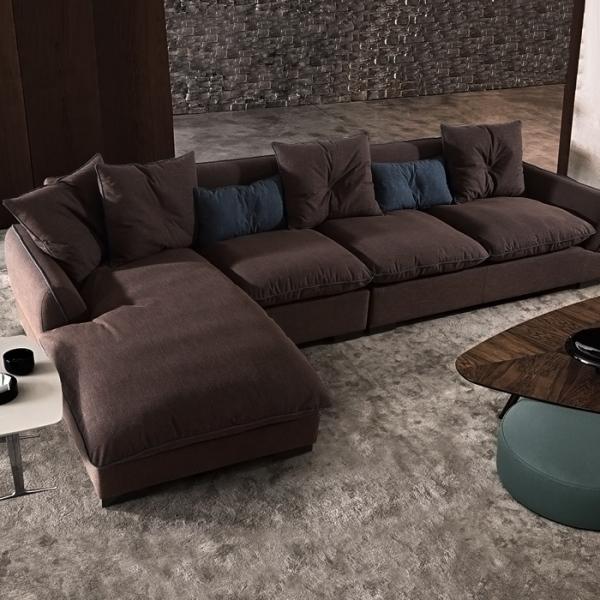 小户型沙发布艺