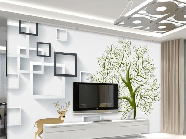 简单电视墙