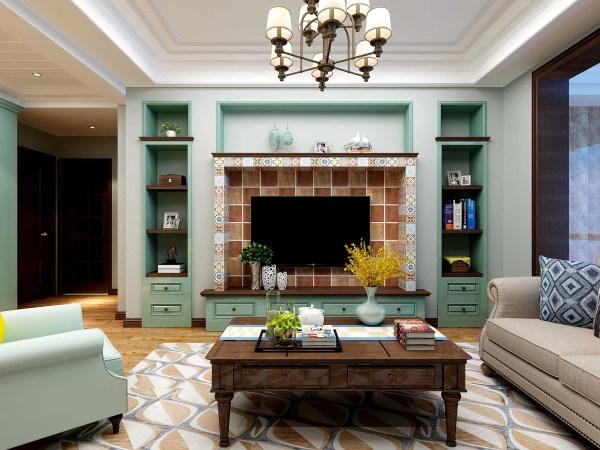 美式装修客厅