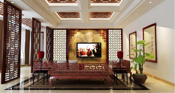 流行电视背景墙