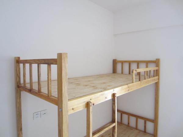 双层实木床