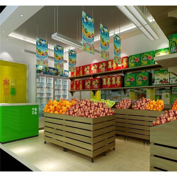 小型水果店装修