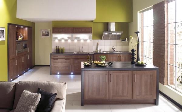 厨房装修橱柜颜色风水