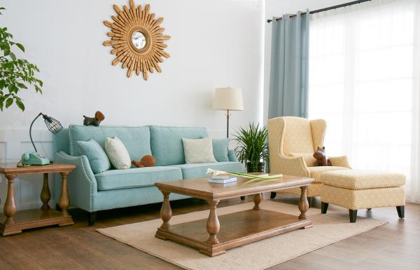 品牌实木沙发