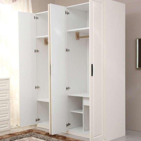 简易实木衣柜