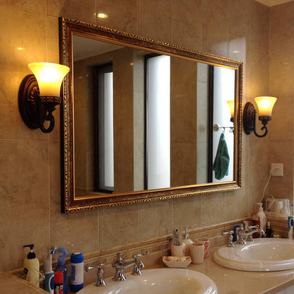 镜子摆放位置
