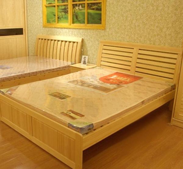 松木床价格