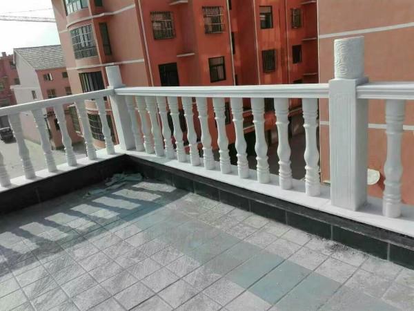别墅阳台石材栏杆