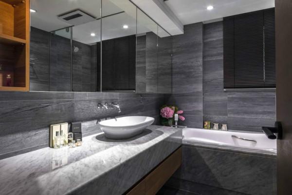 卫生间瓷砖透水