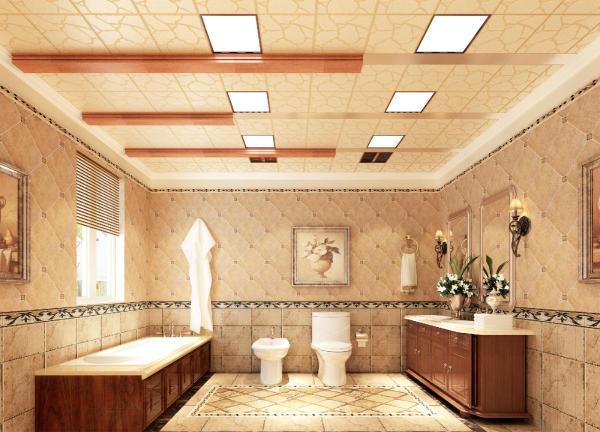 卫生间集成吊顶安装
