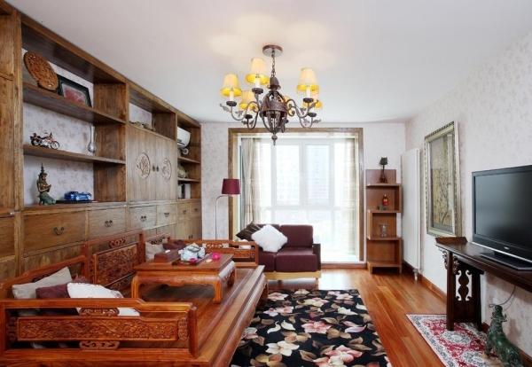 红木家具罗汉床