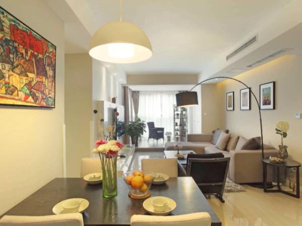 现代简约客厅沙发挂画
