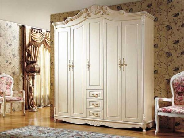 水曲柳实木衣柜