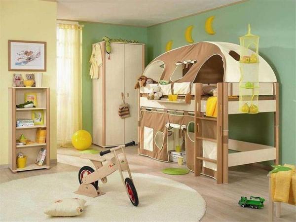 儿童房设计12平米
