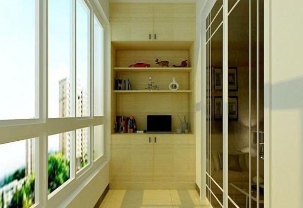 卧室阳台柜子装修设计