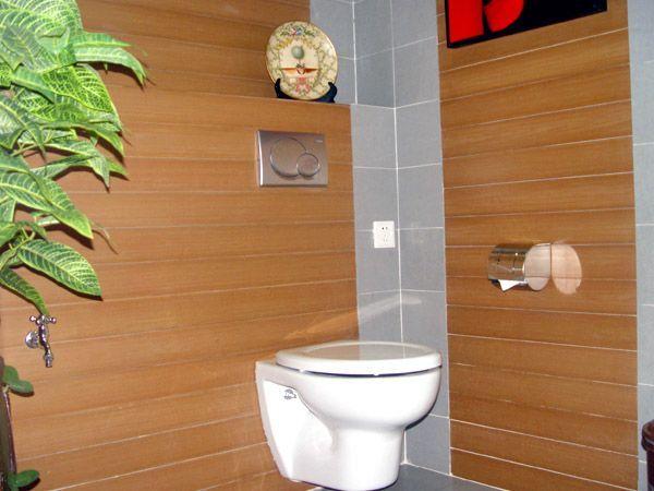 室外生态木墙面做法