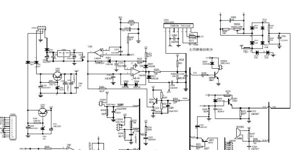 電磁爐維修電路板圖