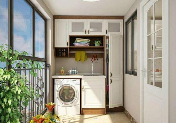 「洗衣柜选购」阳台洗衣柜什么材料好+洗衣柜选购技巧